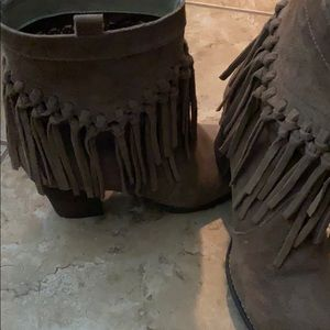 Sbicca tassel boots, size 8